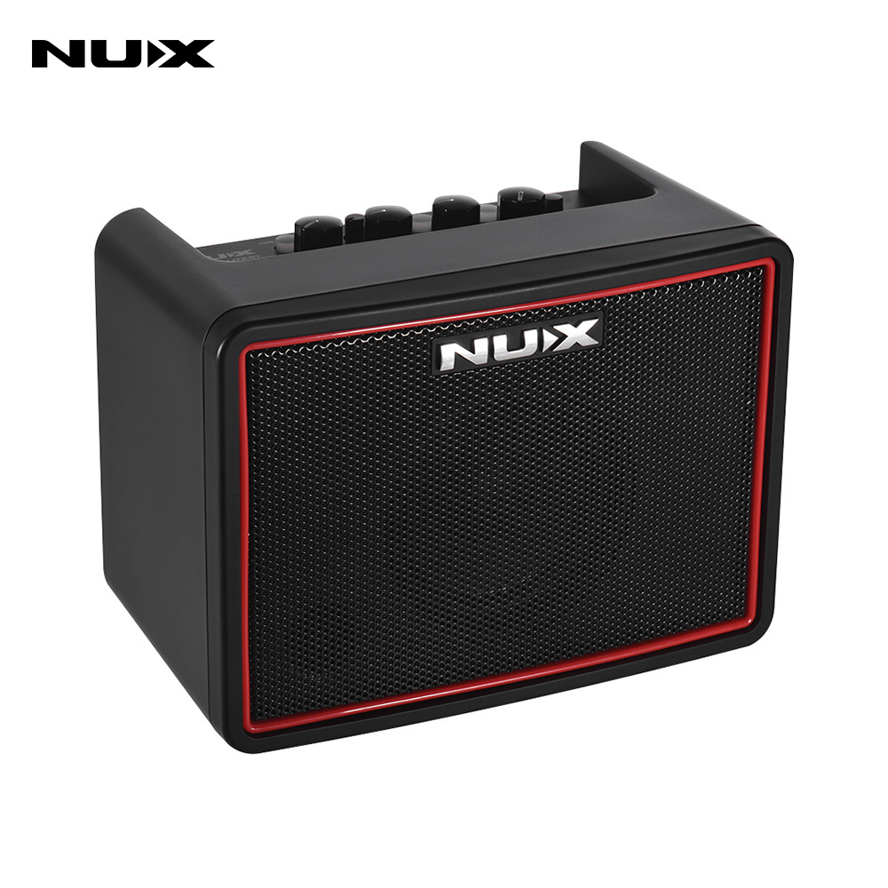 NUX Mighty Lite BT Mini Desktop Electric Guitar Amplifier 3W Amp 3 Channels Built-in Delay Reverb Effects 9 Drum Patterns Metronome