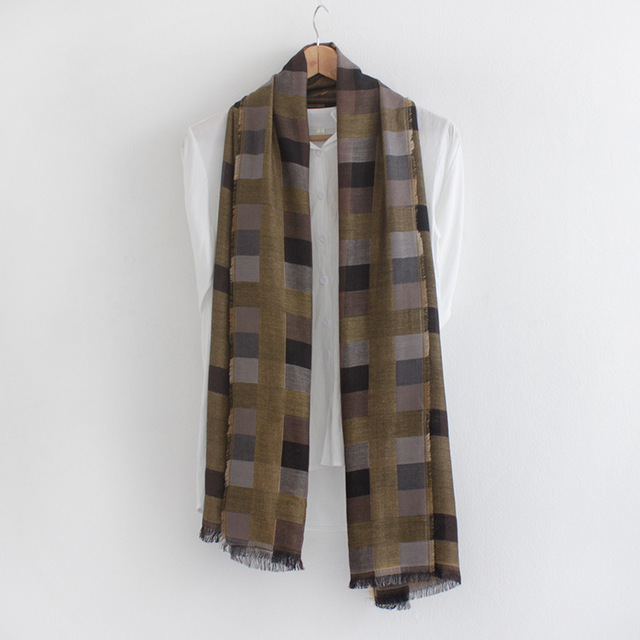 Lattice Cool Color Scarf | Men's Scarves | Up to 60% Off Now