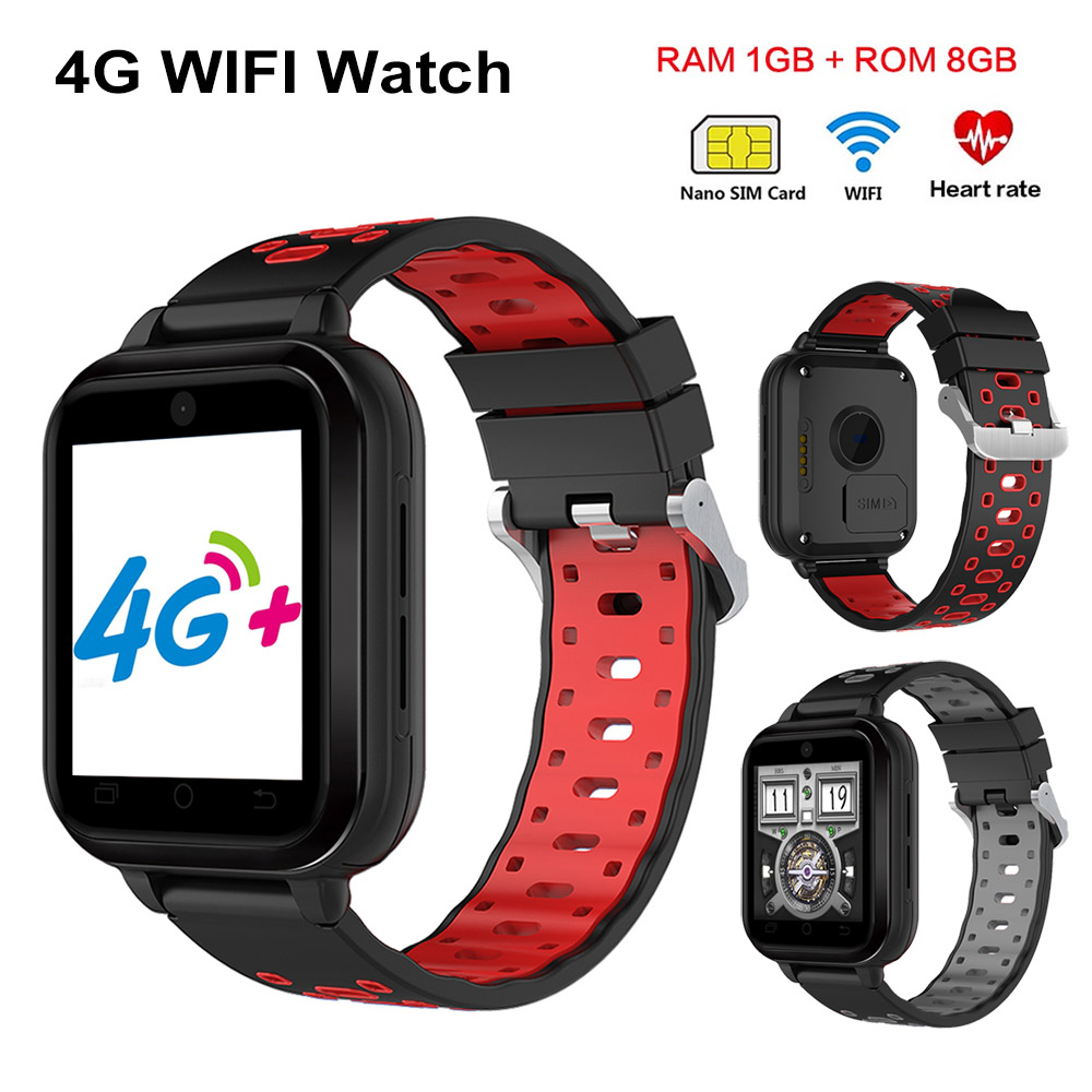 4G Smart Watch Q1 Pro MTK6737 Quad Core Android 6.0 1GB 8GB Wifi SmartWatch Phone Heart Rate Monitor SIM Card Replaceable Strap maxinrytec 4g smart watch dm18 android 6 0 mtk6737 quad core 1gb 16gb gps wifi smartwatch phone heart rate sim card pk dm368 h5