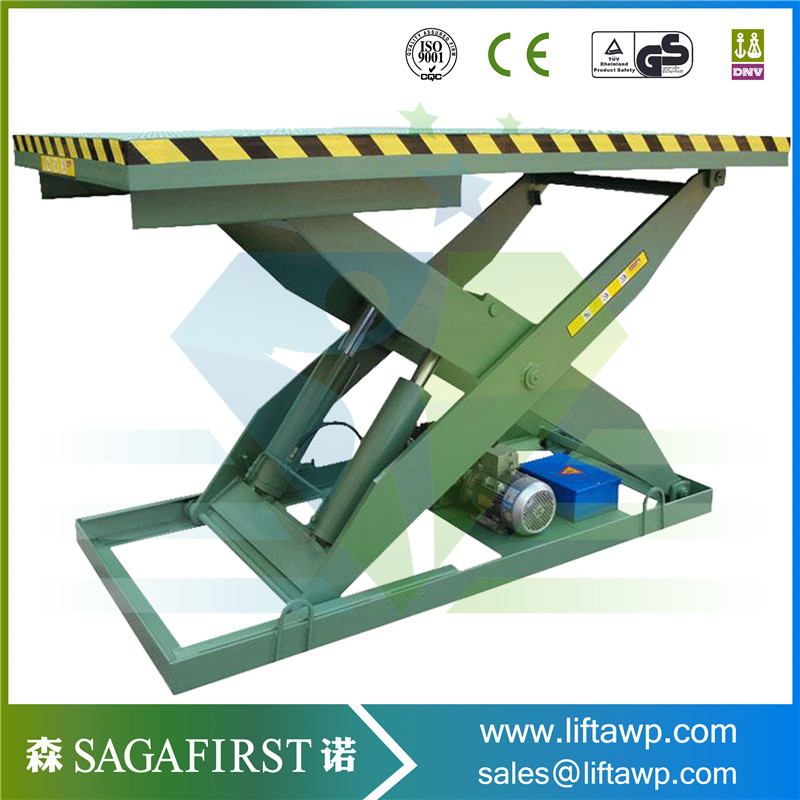 4000kg Fixed Scissor Lift Platform