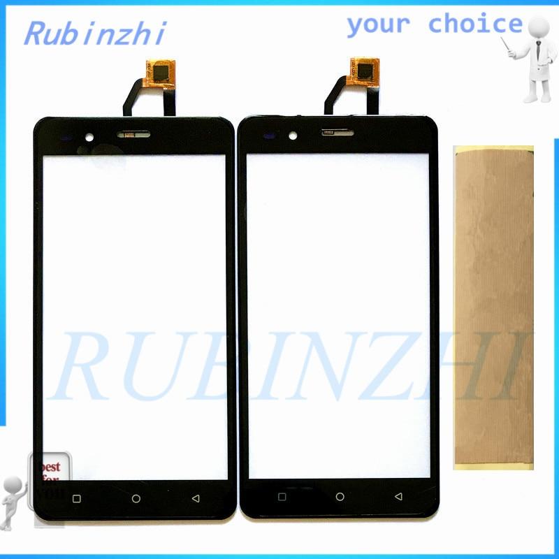 RUBINZHI + Bande Écran Tactile Capteur Pour BQ BQS-5054 BQS 5054 Cristal BQ 5054 BQ-5054 BQ 5054 Écran Tactile Digitizer Verre panneau