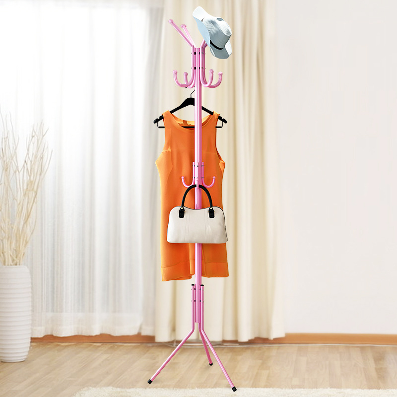 Fashion 32MM Tube Coat Rack Stainless steel Clothing Rack living room Hanging Storage organization Clothes Hanger Furniture цена