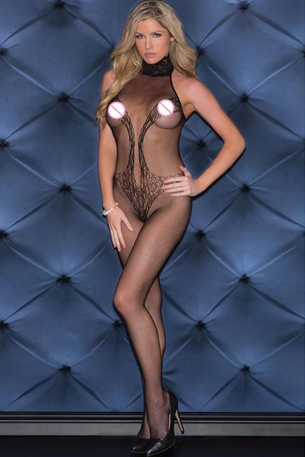 DL79694 New Sexy erotic Lace lingerie Fishnet Bodystocking frete grátis lingerie sexy látex mulheres órgão de lotação plus size