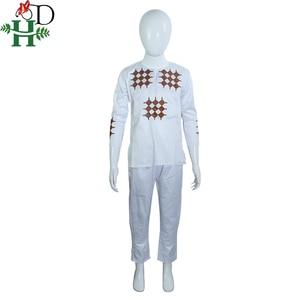 Image 4 - H & D gli uomini del ragazzo del bambino abbigliamento 2020 mens camicia dashiki africano africa bazin riche outfit abbigliamento top vestiti di mutanda vetement africain
