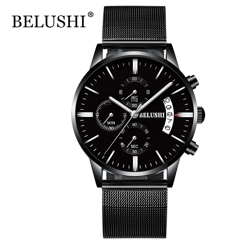 Relojes Steel Mens Ժամացույցներ Բրենդ Շքեղ - Տղամարդկանց ժամացույցներ - Լուսանկար 2