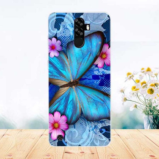 For Homtom S99 Case DIY Painting Cover Soft TPU Silicone Back Cover Phone Case For Homtom S99 S 99 Covers