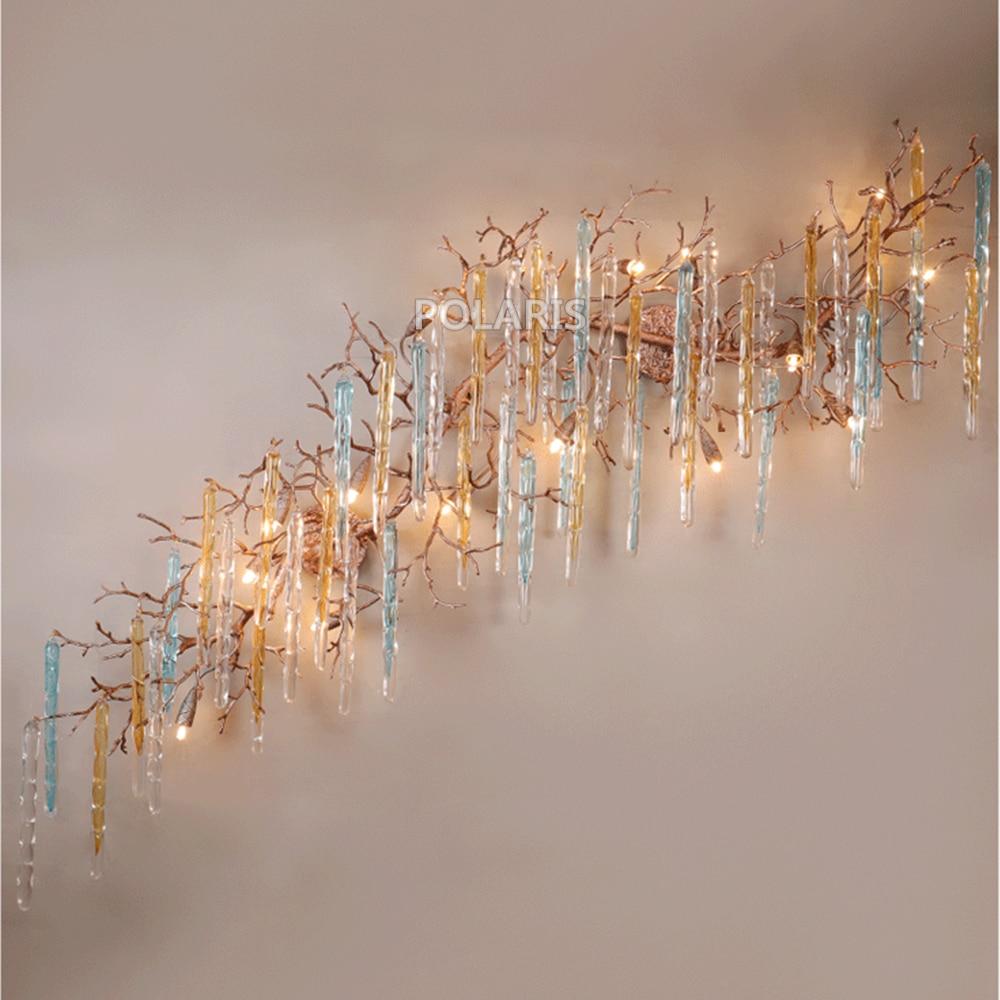 все цены на LED Copper Wall Sconce Lamp Brass Wall Light Copper Chandelier Wall Lighting Foyer Lighting for Home Hotel Living Dining Room