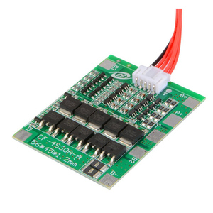Image 3 - 4S 16.8V 30A Li ion Lithium Battery 18650 Charger Protection Board PCB BMS Balance Module High Current TE742