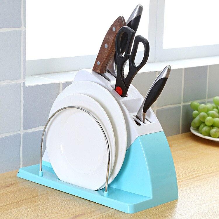 Knife Carrying Case Kitchen Knives Practical Scissors Cutting Plate Holder Tool Holder Holder Shelf Storage064