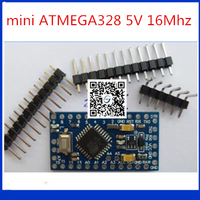 10pcs Trackable Mini ATMEGA328 5V 16Mhz ATMEGA328P Pro Mini 328 For Arduino