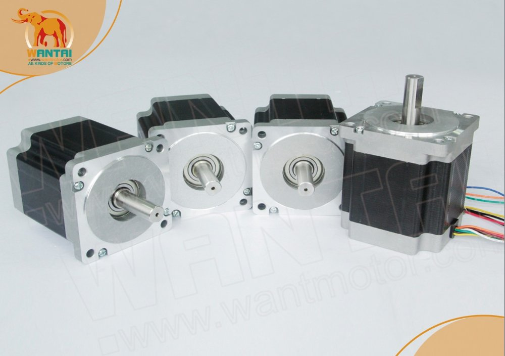 ФОТО High Quality Nema 23 Wantai Stepper Motor 270oz-in,3.0A, 2 phases, 57BYGH633 CNC Kit    www.wantmotor.com