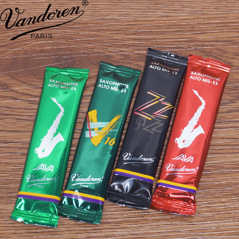 France Vandoren Eb ALTO Saxophone Reeds Pop Jazz 2 And Half / 3