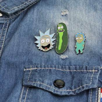 Rick Morty Classic Pins