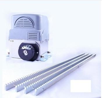цена на 2000kg 230V Automatic Sliding Gate Opener door motor operator with 6m steel rack 2 remote control 1photocell 1 strobe 1 button