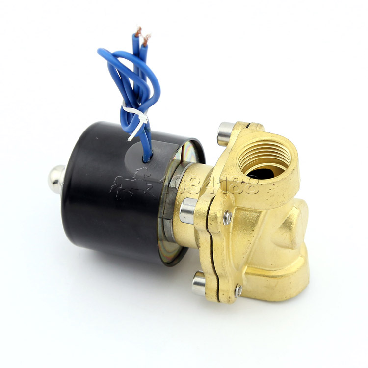 12 24V Two Way Two Position Switch Electric Solenoid Valve For