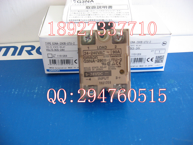 [ZOB] New original OMRON Solid State Relays G3NA-290B-UTU-2 DC5-24V [zob] new original omron omron solid state relay g3na 290b utu 2 dc5 24