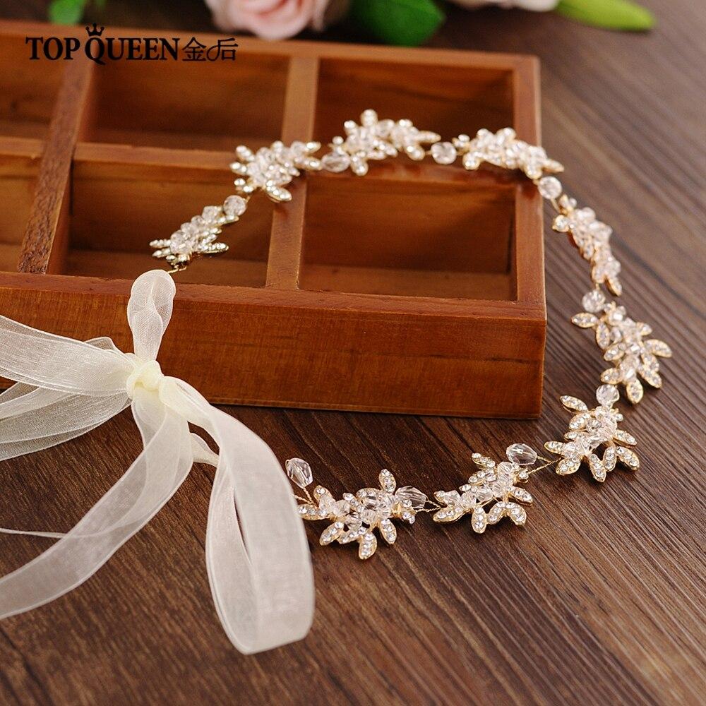 Topqueen Hp107 Hochzeit Tiara Braut Stirnband Hochzeit Headwear Hochzeit Haarband Hochzeit Haar Zubehör Braut Headwear Braut Kopfbedeckungen Weddings & Events