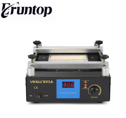 YIHUA 853A BGA Digital display Constant temperature lead-free preheating stations 853a bga constant temperature lead free preheating stations
