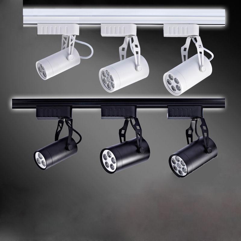 buy led track light 3w 5w 7w 9w 12w aluminum led spotlight energy saving led. Black Bedroom Furniture Sets. Home Design Ideas