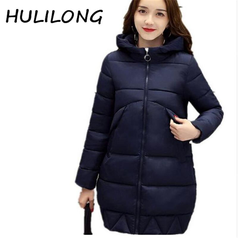 Winter jacket women thickening Long outerwear down cotton-padded jacket parka jacket winter coat women clothing M829