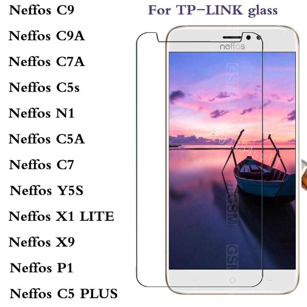 Premium Tempered Glass For TP-LINK NEFFOS C9 C9A C7A C5s N1 C5A C7 Y5S X1 LITE X9 P1 C5 PLUS Screen Protective Film