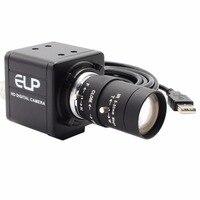 ELP High Speed MJPEG 1080P 60fps/ 720P 120fps/ 360P 260fps UVC OmniVision OV4689 CMOS USB Webcam Camera With Varifocal Lens