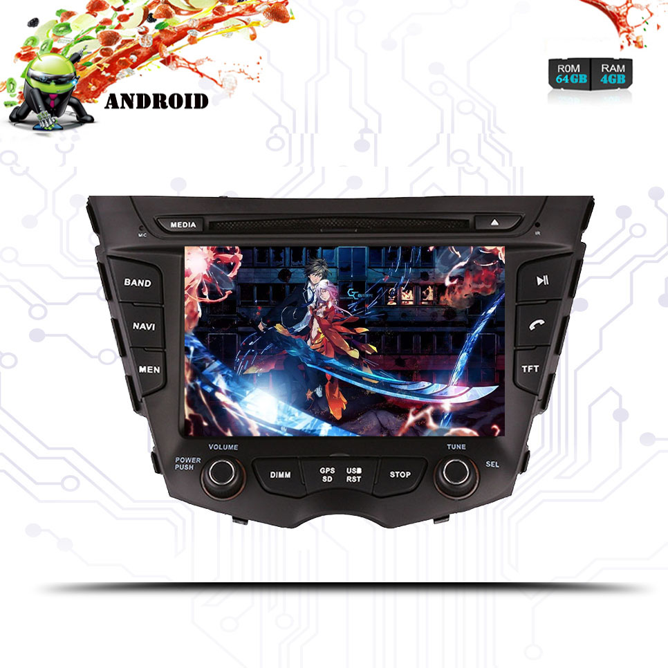 Aftermarket Android 10.0 Car Stereo Radio for Hyundai Veloster 4GB 64GB 8 Core <font><b>GPS</b></font> Navigation DVD Player <font><b>Autoradio</b></font> <font><b>2</b></font> <font><b>Din</b></font> image