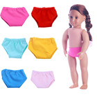 Doll accessories 2018 New 6 Colors Underpants Panty Fit For 18 inch Our Generation American Girl Doll American Girls Accessories