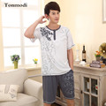Pajamas For Men Summer Thin Modal Sleepwear Short-sleeve Pyjamas Men Lounge Cotton Pajama set