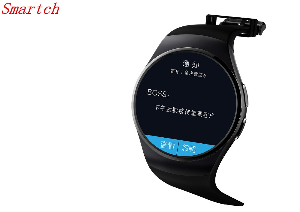 Smartch NFC Heart Rate Monitor Smart Watch KW18 SIM TF Bluetooth Smartwatch Android 2.5D OGS Touch Screen Smart Wristwatch Faceb fashion heart rate monitor smart watch sim tf smartwatch android 2 5d ogs touch screen smart wristwatch bluetooth facebook buit