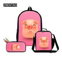 2019 New Boys Girls School Bag Sets Schoolbags Children Backpack Girl Primary Bookbag Kids Mochila Infantil Toddlers Satchel Bag