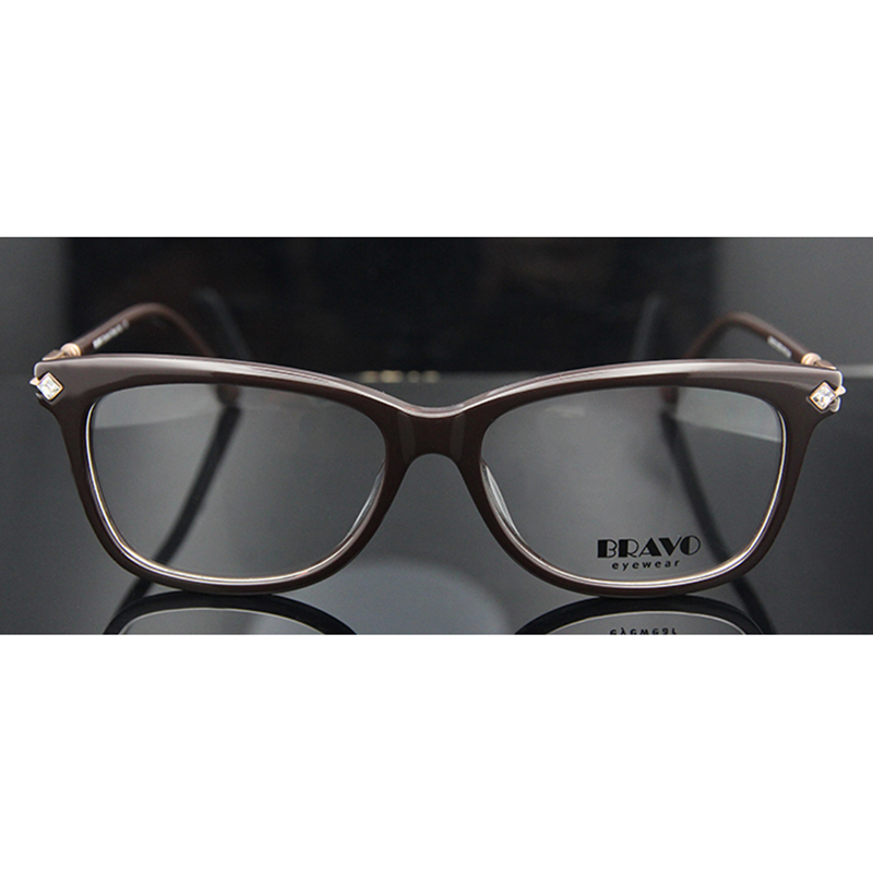 ESNBIE Original Hand Made Woman Eyeglass Frames with Rhinestones ...