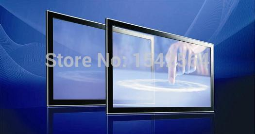 "Retail 65"" 10 points usb iR multi touch screen overlay kit with high sensitivity"