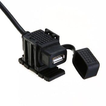 MAYITR Nieuwe Motorfiets Sigarettenaansteker USB Power Poort Charger Adapter Outlet Waterdicht 12 V voor Motorbike ATV Accessoires