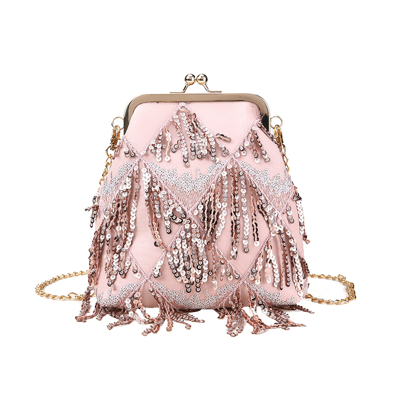 Summer small bag female 2018 new wave chain shoulder bag Korean wild Messenger bag simple fashion shell package 67