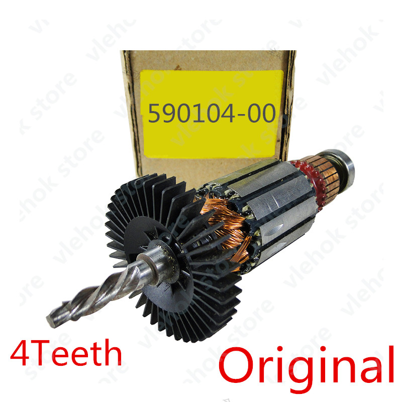 220-240V 4Teeth Armature Rotor for DEWALT 590104-00 DW21003 Power Tool Accessories Electric tools part