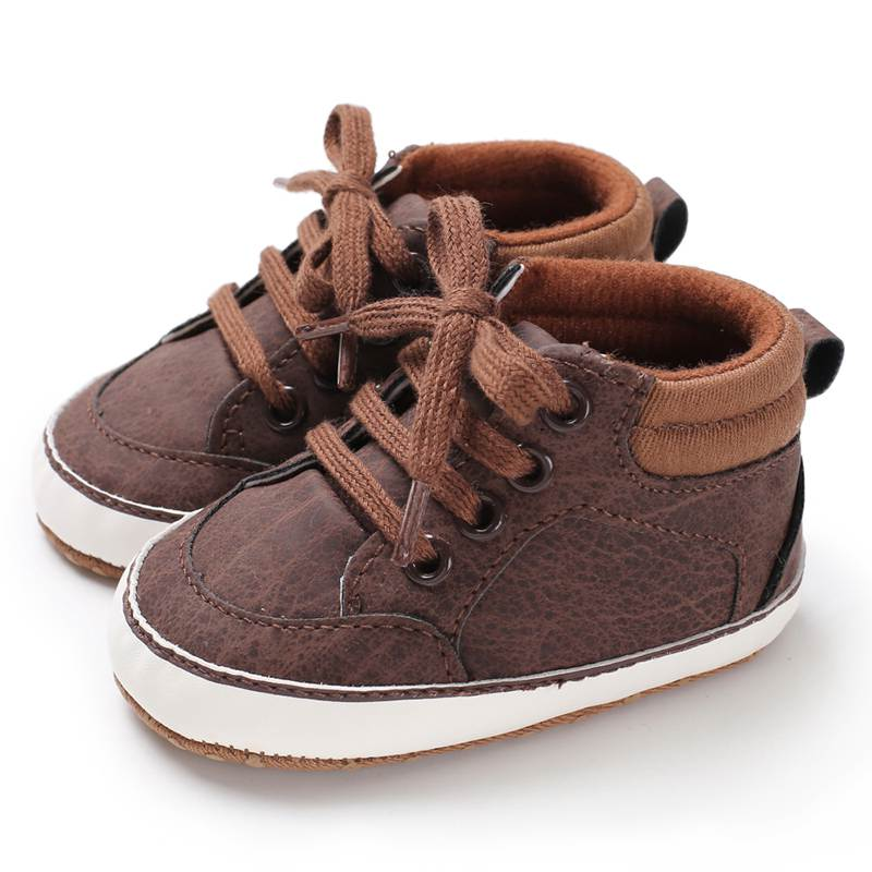 Baby Casual Shoes Born Infant Shoes For Boys Kids Soft Sole Non-Slip Crib Sneakers Children Shoes New