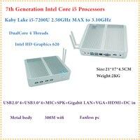 HRF Intel Kaby Lake Core I5 7200U Mini PC Windows HDMI VGA Mini PC I3 I5
