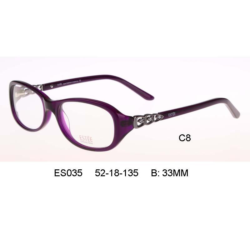 mujer marca lady Optical Glasses frame Girls Myopia Eyeglasses ...