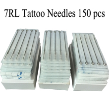 Tattoo Needles 1007RL 150pcs Professional Sterilze 7 Round Liner Tattoo Needles For Tattoo Body Art Supply