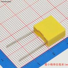 0.22uF  10pcs capacitor X2 capacitor 275VAC Pitch 10mm X2 Polypropylene film capacitor 0.22uF