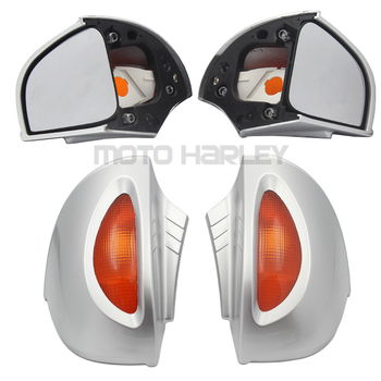 Rear View Glass Side Mount Mirrors for BMW R 850/1100/1150 RT R850RT R1100RT R1150RT RT850 RT1100 RT1150 Motorcycle Rearviews image