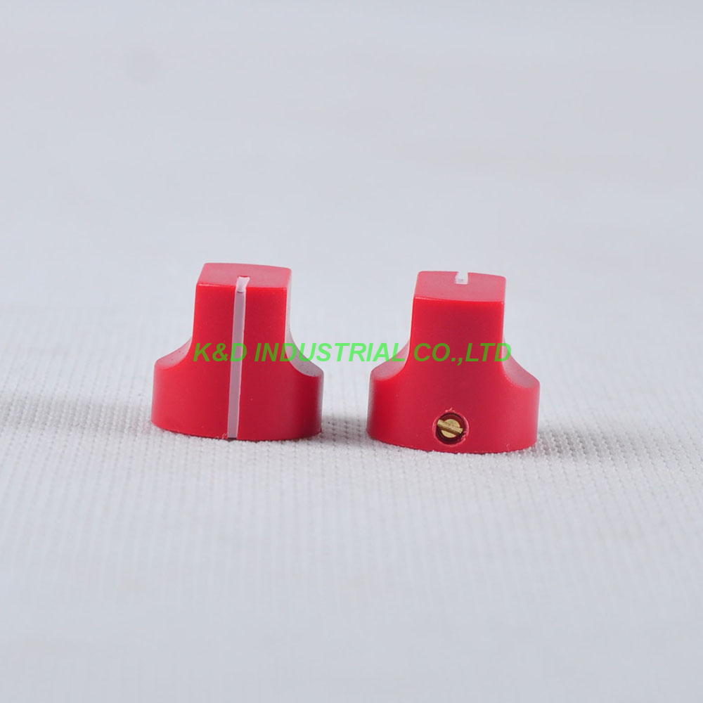 10pcs Colorful Rotary Control Vintage Plastic Red Knob 16x15mm for Guitar 6 35mm Shaft Amp Parts in Smart Power Socket Plug from Consumer Electronics