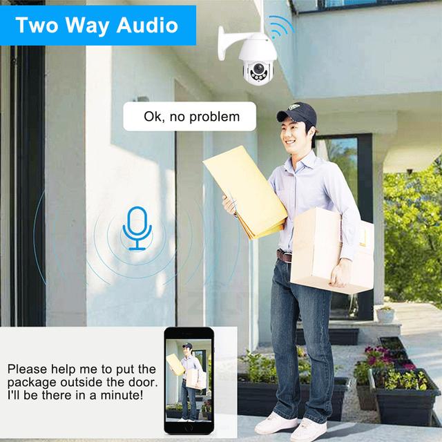 WIFI High Definition Security IP Camera 1080P  Outdoors Wireless  2MP HD IR Two Way Audio Onvif Yoosee APP