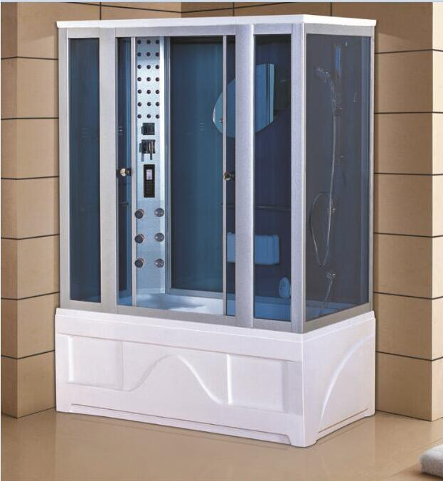 luxury steam shower enclosures bathroom steam shower cabins jetted massage walking-in sauna room RS510 8 shower rooms cabins pulley