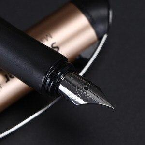 Image 3 - Schneider BK600 Fountain Pen Gift Box Set 0.5mm Iraurita Gel Dual Tip Vulpen Calligraphy Pen Dolma Kalem Kalem Office Supplies