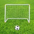 O Envio gratuito de brinquedo conjunto porta futebol Criança/bolas de futebol para as crianças diversão ao ar livre brinquedos/crianças brinquedos de esportes