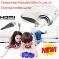2016 New Cheap Price Projector Durable Portable Mini Proyector HDMI USB VGA SD Comaptaible Phone Game PS Xbox Projecteur
