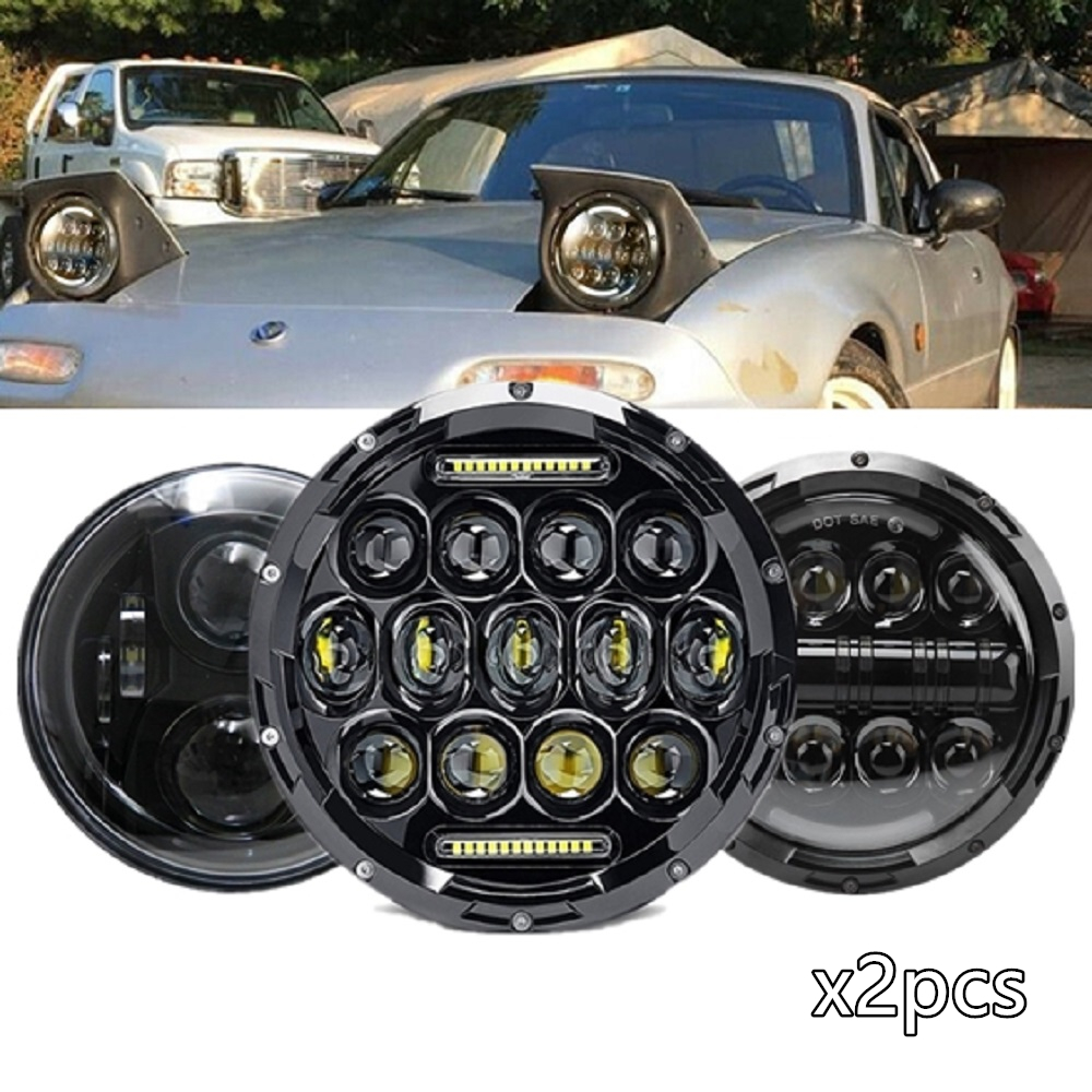 For Mazda MX-5 1990-2000 Side//Low//High Beam 501 H4 H4 Xenon Headlight Bulbs