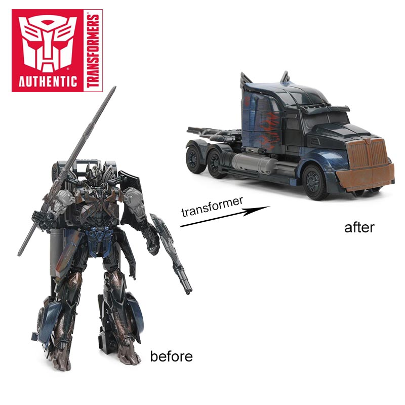 Transformateurs le dernier chevalier ombre étincelle sombre Optimus Prime PVC figurine Collection modèle poupée jouets première édition - 4